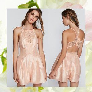 $250 NWT FREE PEOPLE x REVOLVE Lace Romper Dress